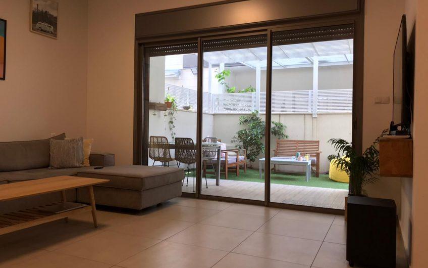 דירת גן 3 חדרים חדשה מפרוייקט לוינסקי היוקרתי בשכונת אגרובנק