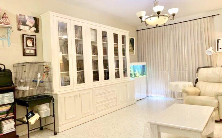 דירה 5 חדרים + מרפסת שמש בשכונת תל גיבורים למכירה
